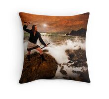 Master and Commander Throw Pillow