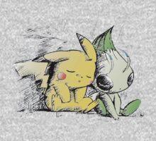 Pokemon 4ever: Pikachu & Celebi Kids Clothes