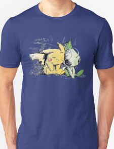 Pokemon 4ever: Pikachu & Celebi T-Shirt