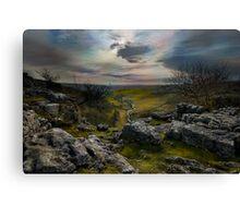Malham Cove - Yorkshire Dales Canvas Print