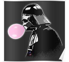 Bubblegum bubble - Vader Style Poster