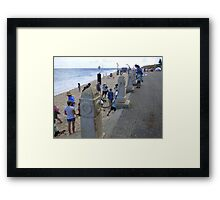 Cottesloe Beach in March Framed Print
