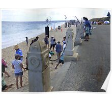 Cottesloe Beach in March Poster