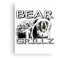 Bear Grillz Metal Print