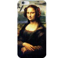 Mona Lisa versus the Empire iPhone Case/Skin