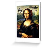 Mona Lisa versus the Empire Greeting Card