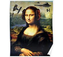 Mona Lisa versus the Empire Poster