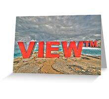 Nice View  Greeting Card