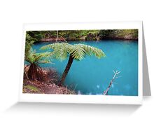 The Blue River Greeting Card