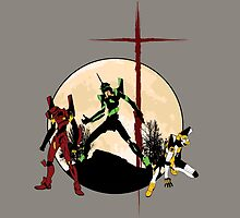 Neon Genesis Evangelion - Hill Top by KAMonkey