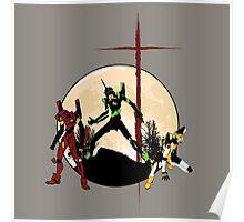 Neon Genesis Evangelion - Hill Top Poster