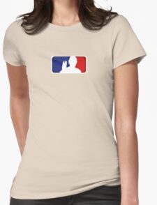 Major League Spock Womens Fitted T-Shirt