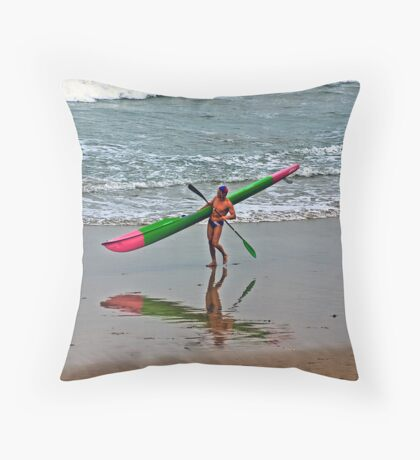 Fairhaven SLSC Surf Carnival (12) Throw Pillow