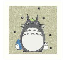 Will you be my neighbor Totoro? Art Print