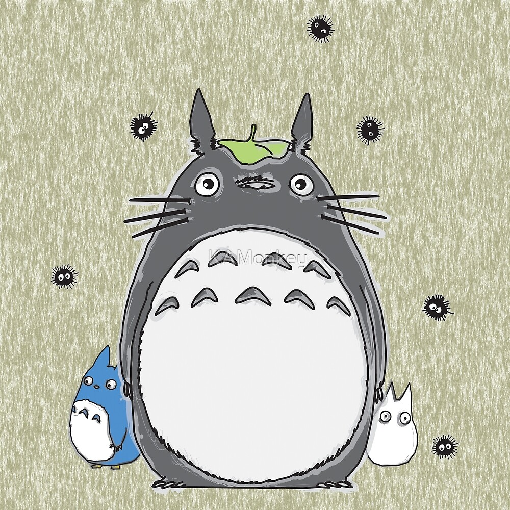 Will you be my neighbor Totoro? by KAMonkey