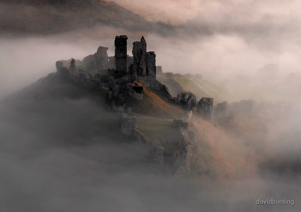 Corfe Castle, Dorset. by davidbunting