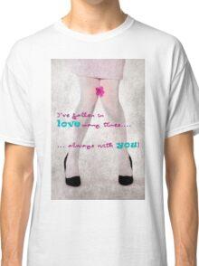 Falling in love Classic T-Shirt