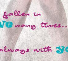 Falling in love Sticker