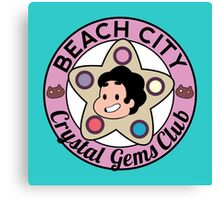 Steven Universe - Beach City Crystal Gems Club Canvas Print