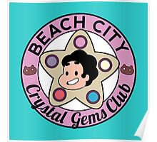 Steven Universe - Beach City Crystal Gems Club Poster