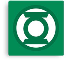 Green Lantern Logo Canvas Print