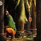 Mahut (elephant trainer) by UniSoul