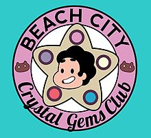 Steven Universe - Beach City Crystal Gems Club by ridiculouis