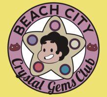 Steven Universe - Beach City Crystal Gems Club Baby Tee