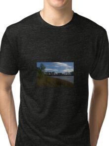 A rippled murray river Tri-blend T-Shirt