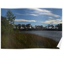 A rippled murray river Poster