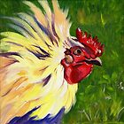 Rooster by Maureen Whittaker