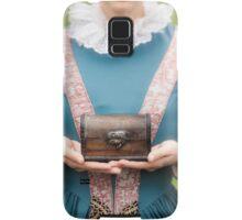 renaissance lady Samsung Galaxy Case/Skin