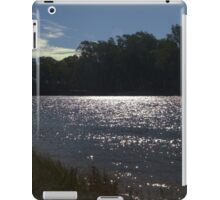 Sunlight on a bend in the river iPad Case/Skin