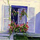 Parisian Window by Maureen Whittaker