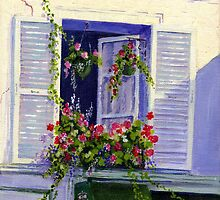 Parisian Window by Maureen Whittaker