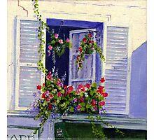 Parisian Window Photographic Print