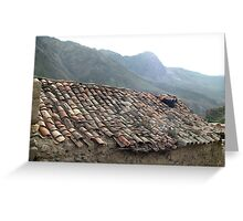 Sacred Valley of the Incas Greeting Card