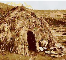 Apache Wickiup 1903 - all products by Dennis Melling