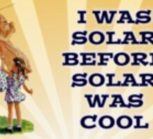 Solar Power Sticker