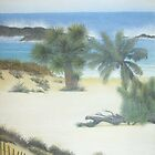 Secluded Beach by Linda Bennett