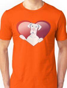 Valentine's Dane - Always In My Heart Unisex T-Shirt