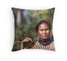Karen Lady Throw Pillow