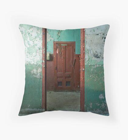 Concentric Portals Throw Pillow