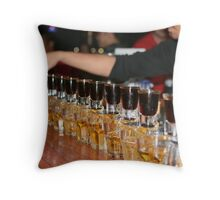 Jager Train Throw Pillow
