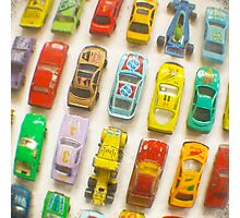 Toy Cars Photographic Print