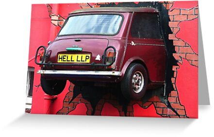Stunt Driver - The Italian Job !!!!! by Colin  Williams Photography