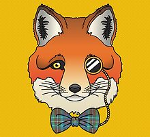 Dapper Fox by jadeboylan