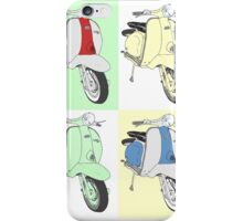 Retro Lambretta series 2 iPhone Case/Skin