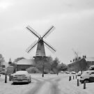 West Blatchington Windmill by Mark Chapman