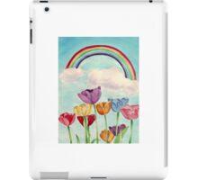 Tulips & Rainbows iPad Case/Skin